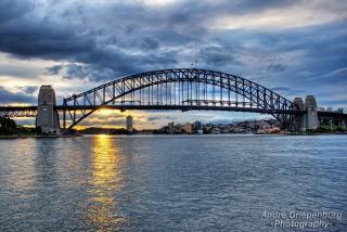 Sydney Harbour Bridge Sunset 1