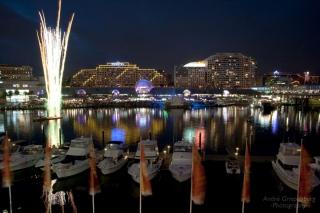 Darling Harbour Feuerwerk I