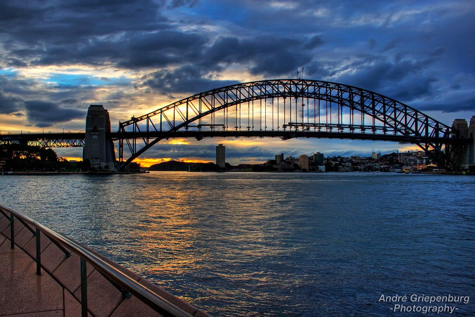 Sydney Harbour Bridge Sunset 2