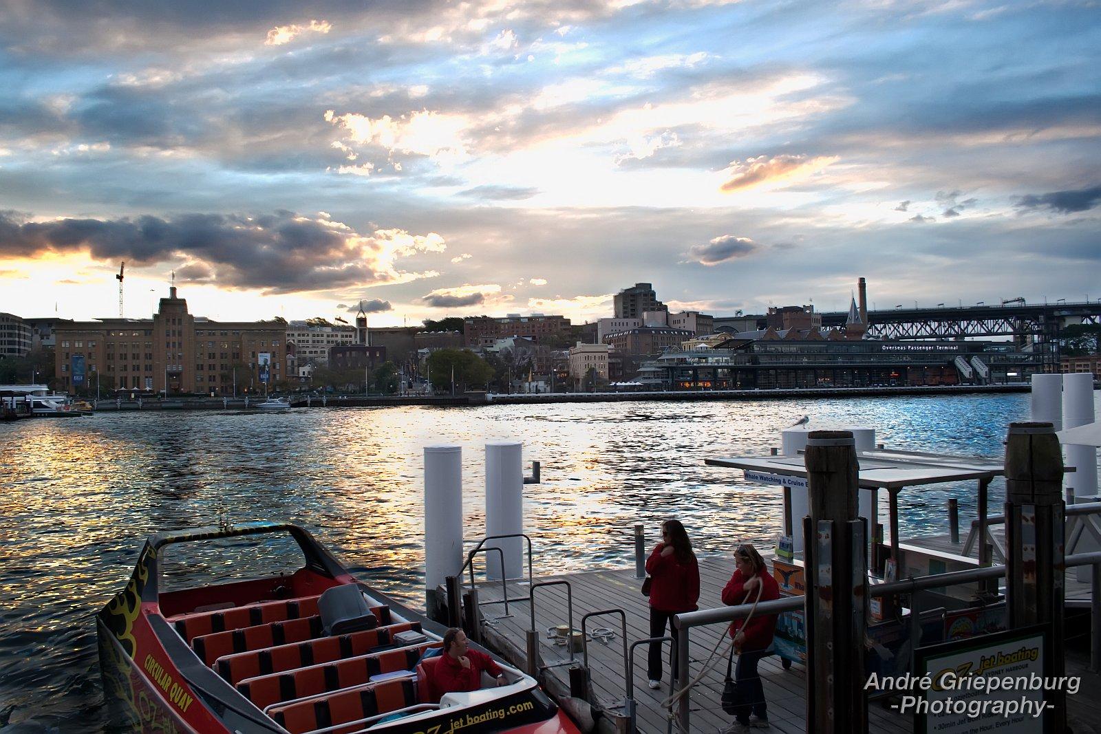 Sydney Habour Kreuzfahrtschiff Terminal